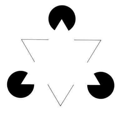 ¿A que ves un triángulo que no está?